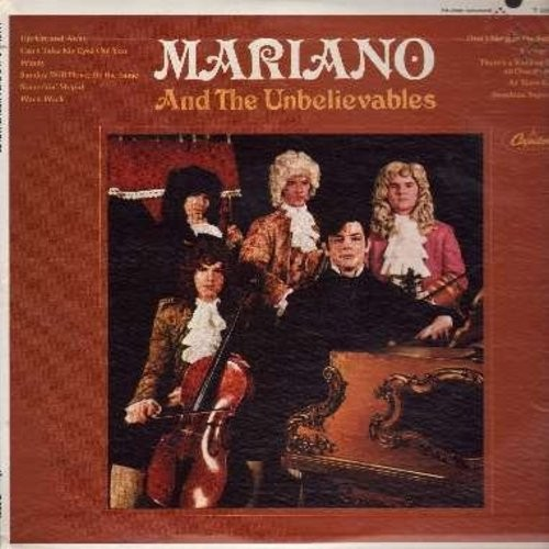 Mariano & The Unbelievables - Mariano And The Unbelievables: Up Up And Away, Windy, Somethin' Stupid, Georgy Girl, Sunshine Superman (Vinyl MONO LP record) - NM9/NM9 - LP Records