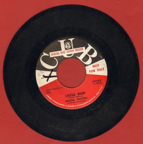 Martell, Arlene - Little Ship/My Heart Is Telling Lies Again (DJ advance pressing, wol) - VG7/ - 45 rpm Records