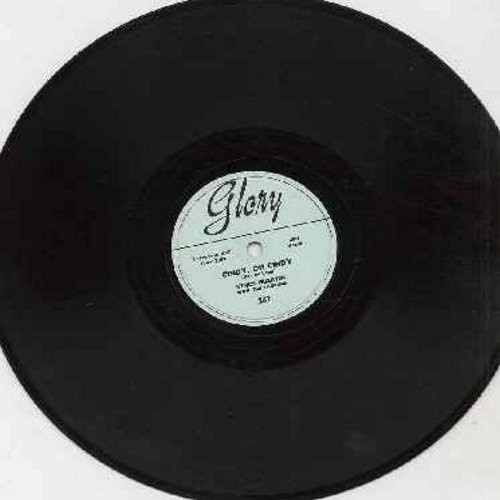 Martin, Vince - Cindy, Oh Cindy/Only If You Praise The Lord (RARE 10 inch 78rpm vinyl record, shipping same as LP) - EX8/ - 78 rpm