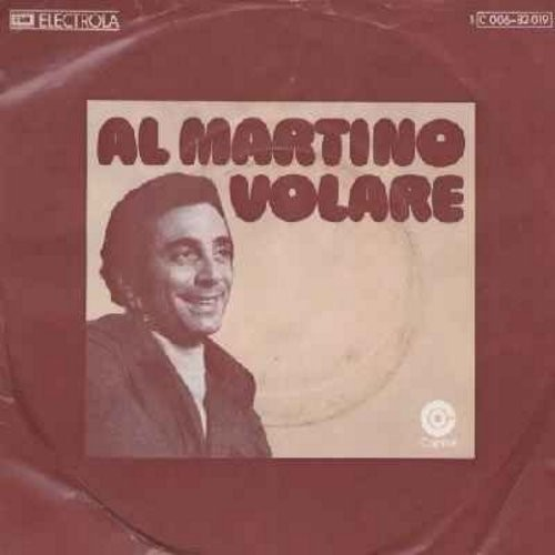 Martino, Al - Volare/You Belong To Me (German pressing, sung in English, with picture sleeve) - NM9/VG7 - 45 rpm Records