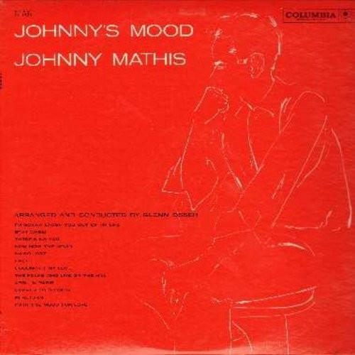 Mathis, Johnny - Johnny's Mood: How High The Moon, Goodnight My Love, I'm In The Mood For Love, The Folks Who Live On The Hill (Vinyl MONO LP record) - NM9/NM9 - LP Records