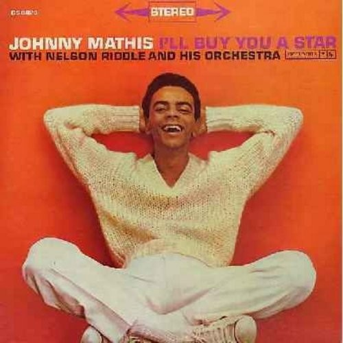 Mathis, Johnny - I'll Buy You A Star: When My Sugar Walks Down The Street, Smile, The Best Is Yet To Come (Vinyl STEREO LP record) - NM9/EX8 - LP Records