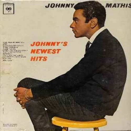 Mathis, Johnny - Johnny's Newest Hits: What Will My Mary Say, Gina, Sweet Thursday, One Look, Quiet Girl, Marianna (Vinyl MONO LP record, SEALED, never opened!) - SEALED/SEALED - LP Records