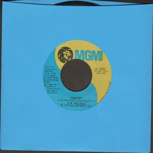 McCall, C. W. - Convoy/Long Lonesome Road - EX8/ - 45 rpm Records