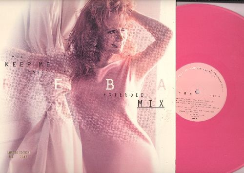 Mc Entire, Reba - You Keep Me Hangin' On - 12 inch vinyl Maxi Single, PINK VINYL LIMITED EDITION No. 1293 with 4 different tracks, with picture cover. - NM9/EX8 - Maxi Singles