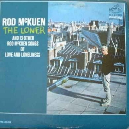 McKuen, Rod - The Loner: When Flora Was Mine, If You Go Away, So Long San Francisco, Thank You, I Turn To You (Vinyl LP record) - NM9/VG7 - LP Records