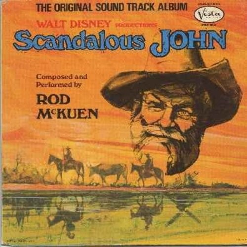 McKuen, Rod - Walt Disney's Scandalous John - Original Motion Picture Sound Track (Vinyl LP record, gate-fold cover) - NM9/EX8 - LP Records