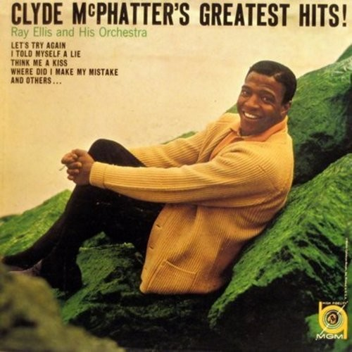McPhatter, Clyde - Clyde McPhatter's Greatest Hits!: Think Me A Kiss, The Masquerade Is Over, Twice As Nice, This Is Not Goodbye (Vinyl MONO LP record, NICE condition!) - NM9/NM9 - LP Records
