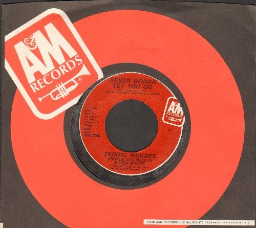 Mendes, Sergio & Brazil '66 - Never Gonna Let You Go/Carnaval (with A&M company sleeve) - NM9/ - 45 rpm Records