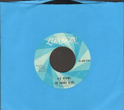 Moody Blues - Go Now!/Lose Your Money - EX8/ - 45 rpm Records