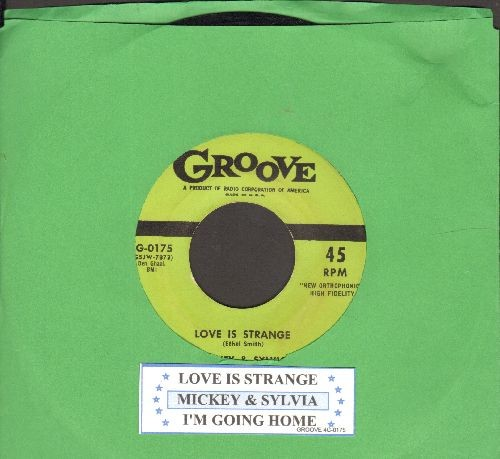 Mickey & Sylvia - Love Is A Treasure/Let's Have A Picnic (with juke box label) - NM9/ - 45 rpm Records