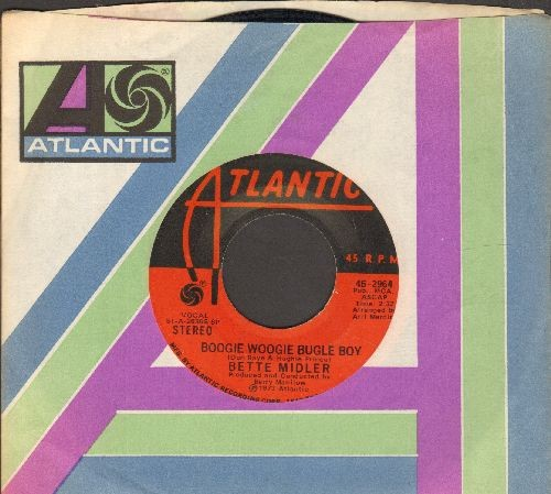 Midler, Bette - Boogie Woogie Bugle Boy/Delta Dawn (with Atlantic company sleeve) - EX8/ - 45 rpm Records