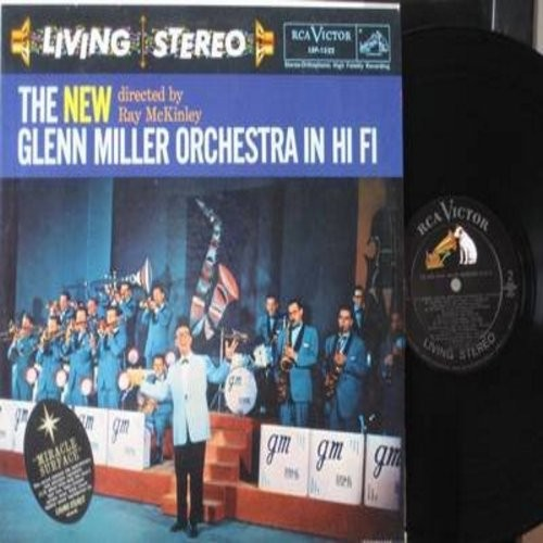 Miller, Glenn Orchestra - The NEW Glenn Miller Orchestra: Anything Goes, My Prayer, On The Street Where You Live, Accentuate The Positive (Vinyl STEREO LP record, NICE condition!) - NM9/NM9 - LP Records