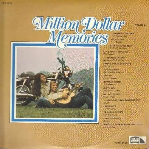Shangri-Las, Chiffons, Freddy, Jean & Dean, others - Million Dollar Memories Vol 2: Leader Of The Pack, He's So Fine, A Teenager In Love, Party Girl, Wake Up Little Suzy (Vinyl STEREO LP record) - M10/EX8 - LP Records