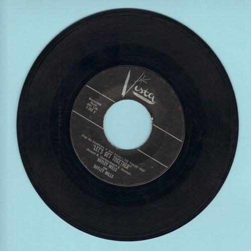 Mills, Hayley - Let's Get Together/Cobbler Cobbler  - EX8/ - 45 rpm Records
