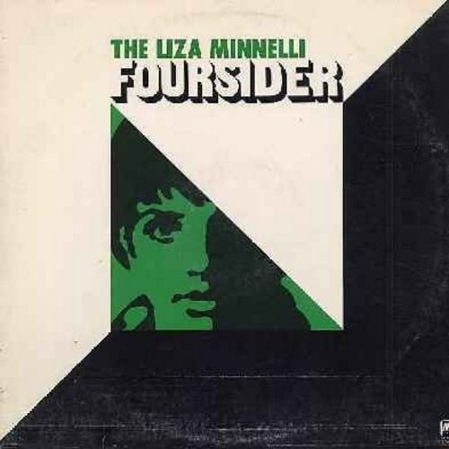 Minnelli, Liza - Foursider: Liza (With A Z), Cabaret, Everybody's Talkin', Married, Leavin' On A Jet Plane, Come Rain Or Come Shine, My Mammy, Maybe This Time (2 vinyl STEREO LP record set, counts as 2 LPs) - NM9/EX8 - LP Records