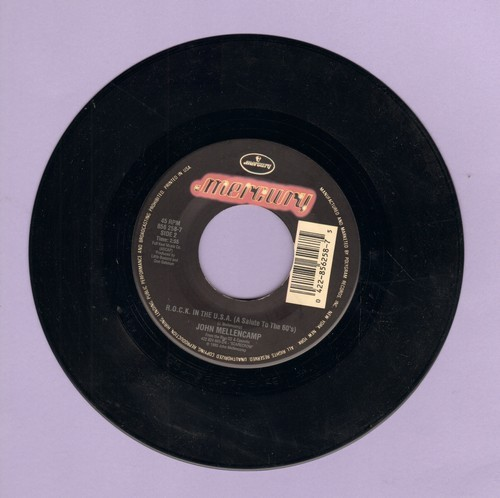 Mellencamp, John Cougar - R.O.C.K. In The U.S.A. (A Salute To The 60's)/Dance Naked  - EX8/ - 45 rpm Records