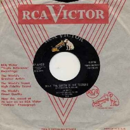 Monte, Lou - Nina, The Queen Of The Teeners/Pony Tail (with RCA company sleeve) - VG7/ - 45 rpm Records
