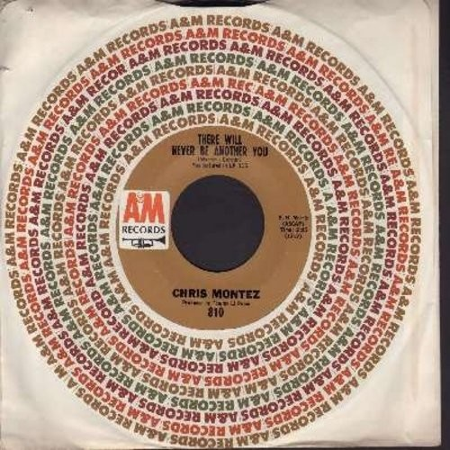 Montez, Chris - There Will Never Be Another You/You Can Hurt The One You Love (with A&M company sleeve) (bb) - VG7/ - 45 rpm Records