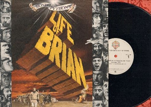 Monty Python - Monty Python's Life Of Brian - Original Motion Picture Soundtrack (vinyl STEREO LP record) - NM9/NM9 - LP Records