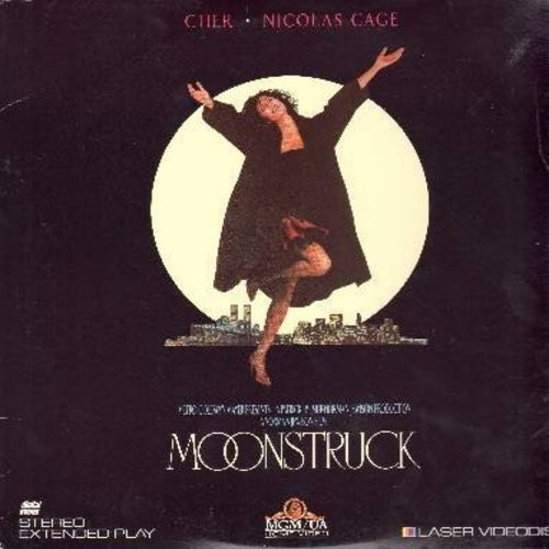 Moonstruck - Moonstruck - Cher's 1987 Oscar Winner, the Blockbuster Romantic Comedy featuring Oscar Winner Olympia Dukakis - THIS IS A LASERDISC, NOT ANY OTHER KIND OF MEDIA! - NM9/EX8 - LaserDiscs