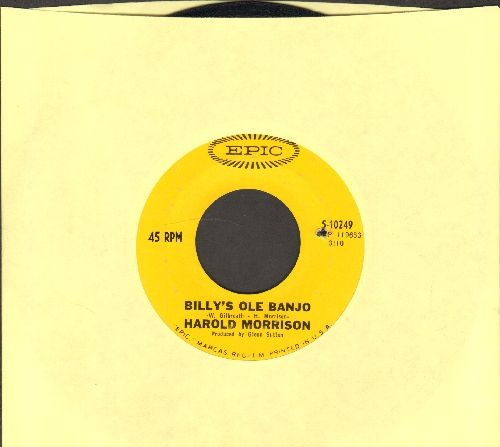 Morrison, Harold - Billy's Ole Banjo/The Singer (bb) - EX8/ - 45 rpm Records