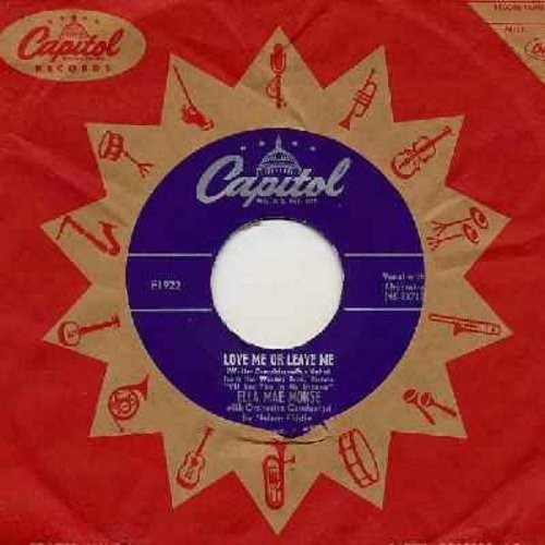 Morse, Ella Mae - Love Me Or Leave Me/The Blacksmith Blues (with vintage Capitol company sleeve) - EX8/ - 45 rpm Records
