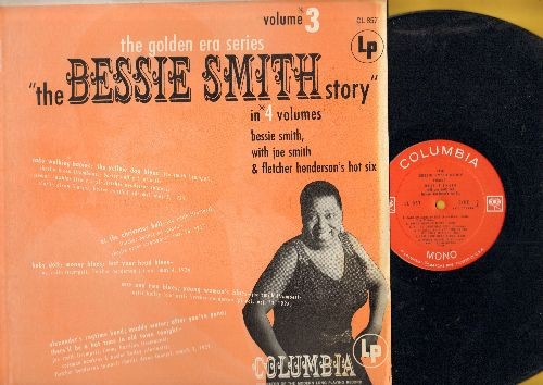 Smith, Bessie - The Bessie Smith Story Vol. 3: Cake Walking Babies, Yellow Dog Blues, Baby Doll, Alexander's Ragtime Band, There'll Be A Hot Time In  Old Town Tonight (Vinyl MONO LP record, 1980s re-issue of vintage recordings) - NM9/EX8 - LP Records