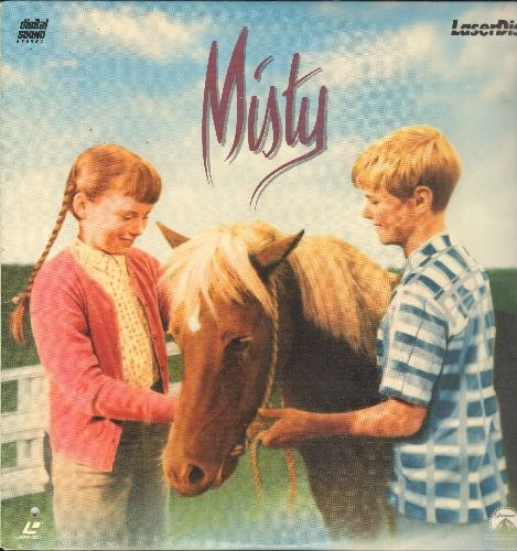 Misty - Misty - LASERDISC version of the 1961 Family Classic based on Marguerite Henry's Children's Book -Misty of Chincoteague-. - NM9/ - LaserDiscs