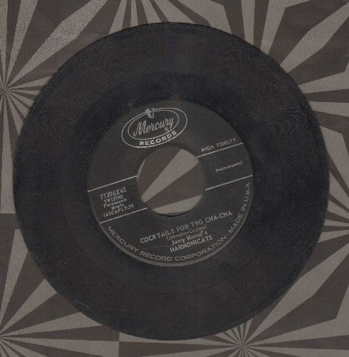 Murad, Jerry Harmonicats - Cocktails For Two Cha-Cha/Honeymoon In Puerto Rico - EX8/ - 45 rpm Records
