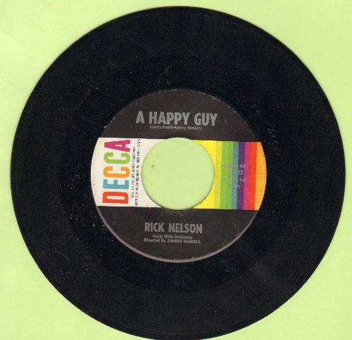 Nelson, Rick - A Happy Guy/Don't Breathe A Word - EX8/ - 45 rpm Records