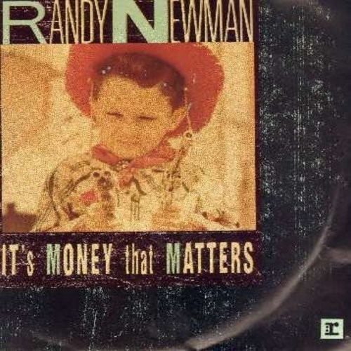 Newman, Randy - It's Money That Matters/Roll With The Punches (with picture sleeve) - M10/NM9 - 45 rpm Records