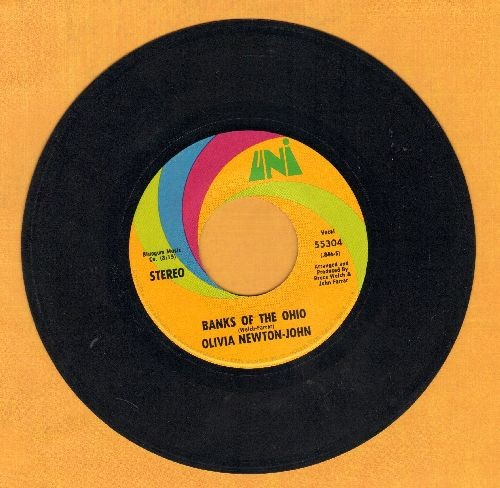 Newton-John, Olivia - Banks Of The Ohio/It's So Hard To Say Goodbye - EX8/ - 45 rpm Records