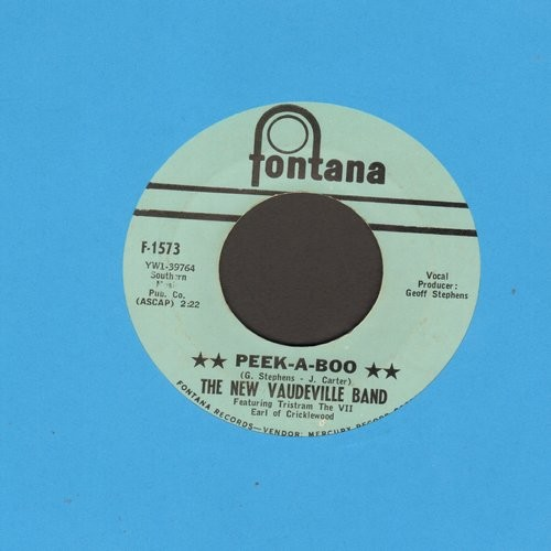 New Vaudeville Band - Peek-A-Boo/Amy - EX8/ - 45 rpm Records