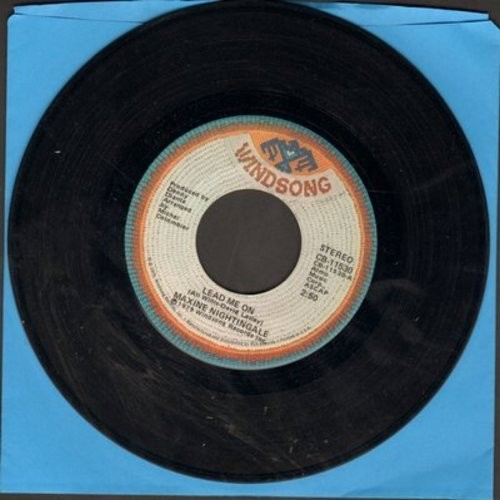 Nightingale, Maxine - Lead Me On/Love Me Like You mean It - NM9/ - 45 rpm Records