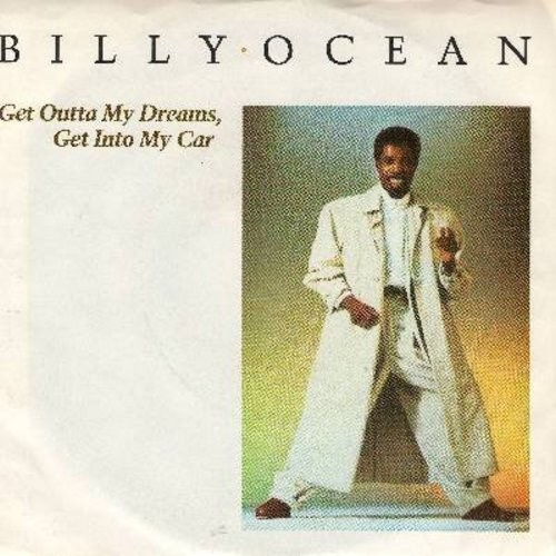Ocean, Billy - Get Outta My Dreams, Get Into My Car/Showdown (with picture sleeve) - NM9/VG7 - 45 rpm Records