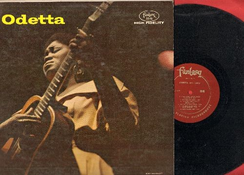 Odetta - Odetta and Larry: John Henry, Pay Day At Coal Creek, The Frozen Logger, Old Blue (vinyl MONO LP record) - EX8/VG6 - LP Records