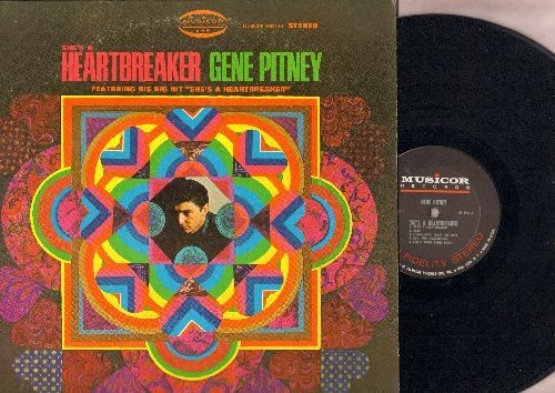 Pitney, Gene - She's A Heartbreaker: Yours Until Tomorrow, If I Only Had Time, (1-2-3-4-5-6-7) Count The Days (Vinyl STEREO LP record) - NM9/EX8 - LP Records