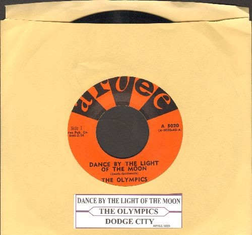 Olympics - Dance By The Light Of The Moon/Dodge City (with juke box label) - EX8/ - 45 rpm Records