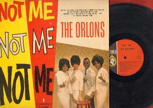 Orlons - Not Me: Gee Whiz, Mama Didn't Lie, For Your Love, Bad Boy, He's Sure The Boy I Love (Vinyl MONO LP record) - EX8/EX8 - LP Records