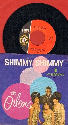Orlons - Shimmy Shimmy/Everything Nice (with RARE picture sleeve) - NM9/EX8 - 45 rpm Records