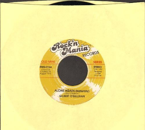 O'Sullivan, Gilbert - Alone Again (Naturally)/Ooh, Baby (double-hit  re-issue) - NM9/ - 45 rpm Records