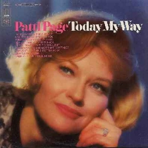 Page, Patti - Today My Way: Can't Take My Eyes Off You, In The Chapel In The Moonlight, I Take It Back, Don't Sleep In The Subway (Vinyl STEREO LP record) - M10/EX8 - LP Records