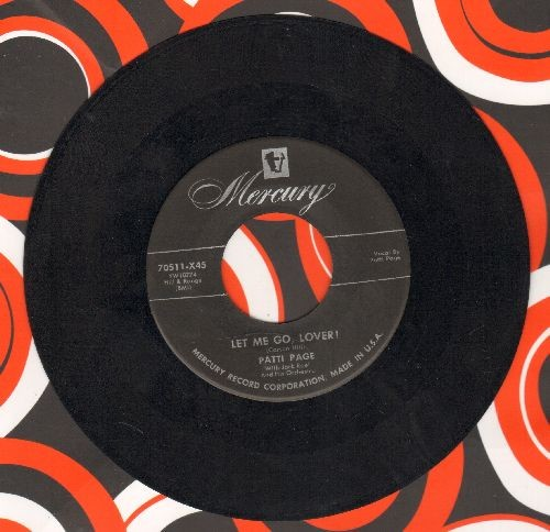 Page, Patti - Let Me Go, Lover/Hocus-Pocus - EX8/ - 45 rpm Records