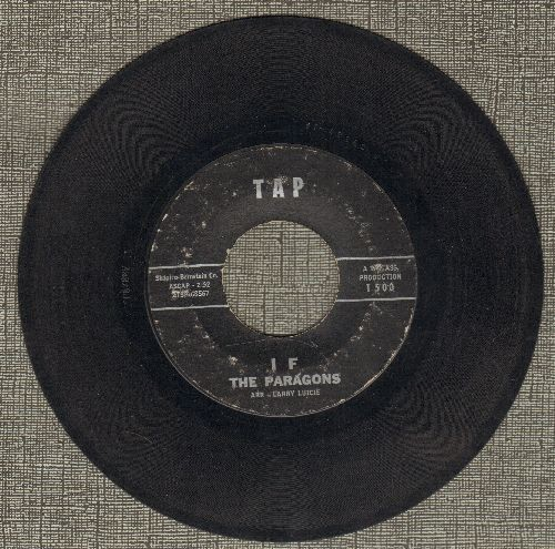 Paragons - If/Hey Baby - VG7/ - 45 rpm Records