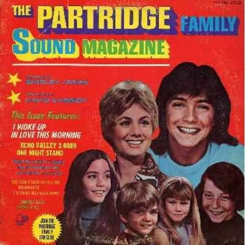 Partridge Family - Sound Magazine: I Woke Up In Love This Morning, One Night Stand, Echo Valley 2-6809 - EX8/VG7 - LP Records