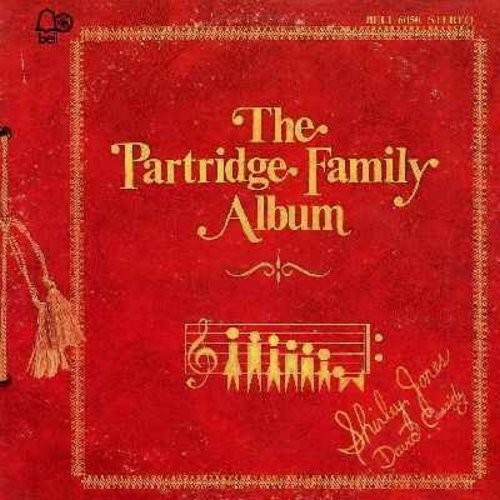Partridge Family - The Partridge Family Album: Only A Moment Ago, I Think I Love You, Brand New Me, I Can Hear Your Heartbeat, Somebody Wants To Love You (Vinyl STEREO LP record) - EX8/EX8 - LP Records