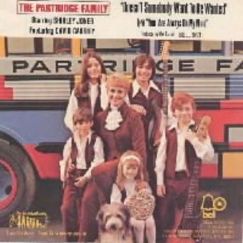 Partridge Family - Doesn't Somebody Want To Be Wanted/You Are Always On My Mind (with picture sleeve) - NM9/VG7 - 45 rpm Records