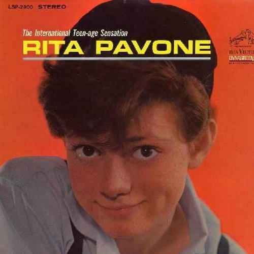 Pavone, Rita - The International Teen-Age Sensation: Remember Me, Wait And See, I Can't Hold Back The Tears, Just Once More, Little By Little, Kissin' Time, Say Goodbye To Bobby (vinl MONO LP record) - EX8/EX8 - LP Records