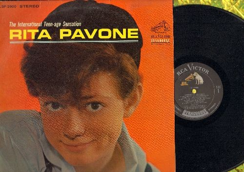 Pavone, Rita - The International Teen-Age Sensation: Remember Me, Wait And See, I Can't Hold Back The Tears, Just Once More, Little By Little, Kissin' Time, Say Goodbye To Bobby (Vinyl STEREO LP record) - EX8/EX8 - LP Records